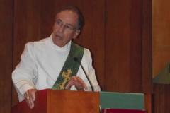 Deacon Jim Benjamin at OMI