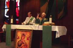 Fr. Gerry & Deacon Jim Benjamin at OMI