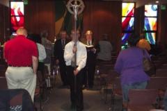 Procession at Mass at OMI