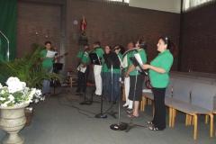 Musicians at Mass in Room 4, WLIFC