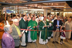 Ribbon-cutting at renovations of Wilde Lake Interfaith Center