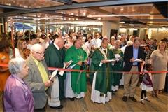 Ribbon-cutting at renovations of Wilde Lake Interfaith Center